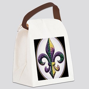 FleurMGbeadsOfBc Canvas Lunch Bag