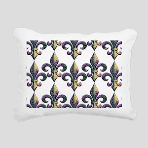 FleurMGbeadsPtrBeBag Rectangular Canvas Pillow