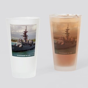 meyerkord de framed panel print Drinking Glass