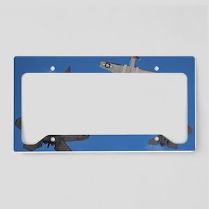 HistoricalFlight License Plate Holder