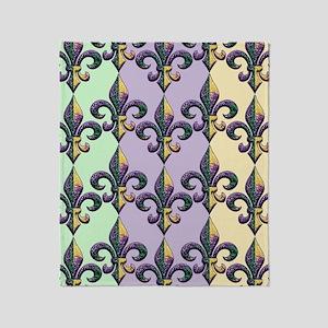 FleurMGbeadsPc460ip Throw Blanket