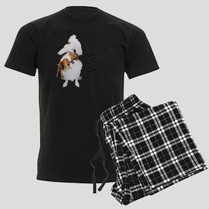 NO-HeartStormy Men's Dark Pajamas