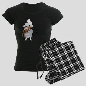 NO-HeartStormy Women's Dark Pajamas