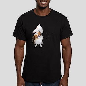 NO-HeartStormy Men's Fitted T-Shirt (dark)