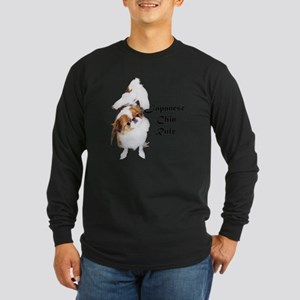 NO-HeartStormy Long Sleeve Dark T-Shirt