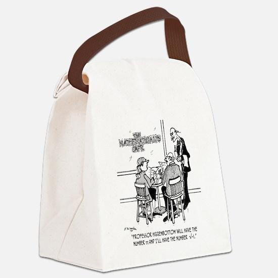 1749_math_cartoon Canvas Lunch Bag