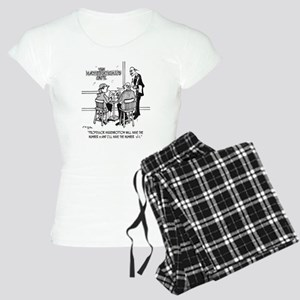 1749_math_cartoon Women's Light Pajamas