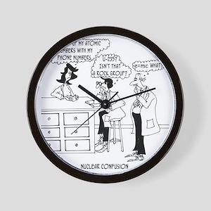 6041_physics_cartoon Wall Clock