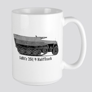 Large HalfTrack Mug