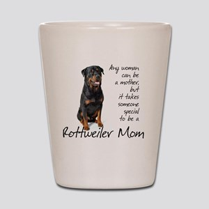 Rottie Mom Shot Glass