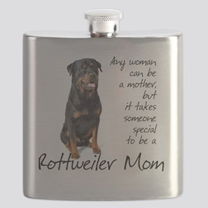 Rottie Mom Flask