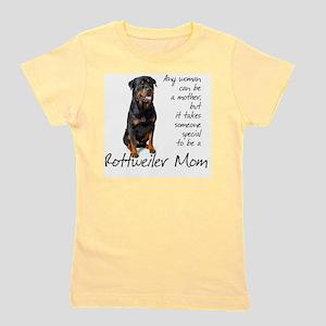 Rottie Mom Girl's Tee