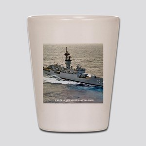 mshields ffg framed panel print Shot Glass