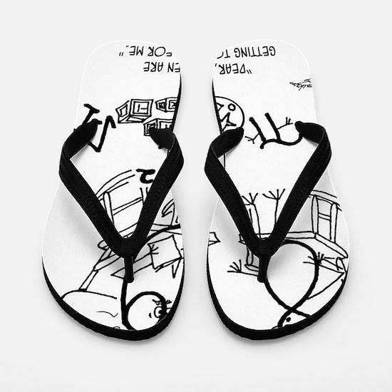 5848_math_cartoon Flip Flops