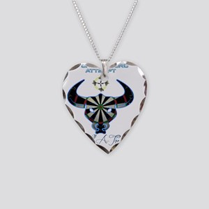 bullathon_drink_glass Necklace Heart Charm