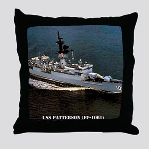 patterson ff framed panel print Throw Pillow