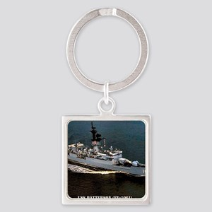 patterson ff framed panel print Square Keychain
