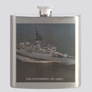 patterson ff framed panel print Flask