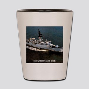 patterson ff framed panel print Shot Glass