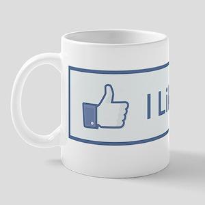 2011-12-14_Funny_FaceBook-ILikeThis Mug