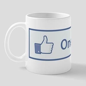2011-12-14_Funny_FaceBook-OneILove Mug