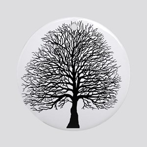 Oak tree Round Ornament