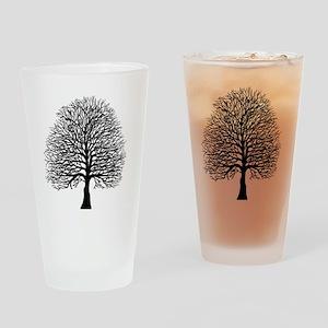 Oak tree Drinking Glass