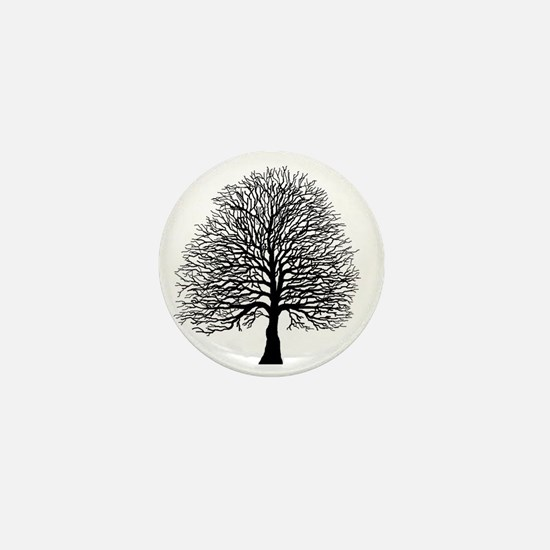 Oak tree Mini Button