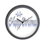 Happy Christams Wall Clock