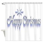 Happy Christams Shower Curtain