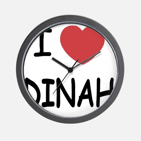 DINAH Wall Clock