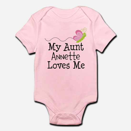 Personalized My Aunt Loves Me Body Suit