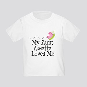Personalized My Aunt Loves Me T-Shirt