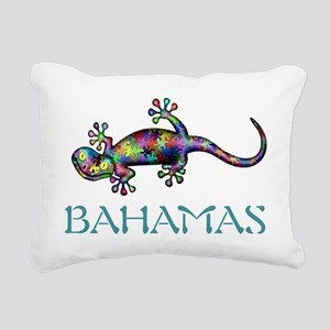Bahamas Gekco Rectangular Canvas Pillow