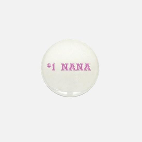 #1 Nana Mini Button