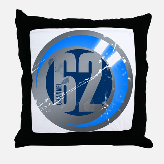 channel62 Throw Pillow