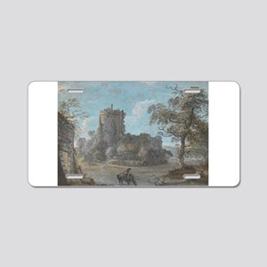 The Entrance to Chepstow Castle - Paul Sandby - c1