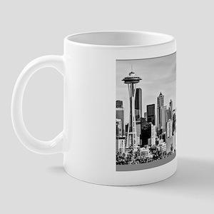 bwseattleskylinelaptopskin2 Mug