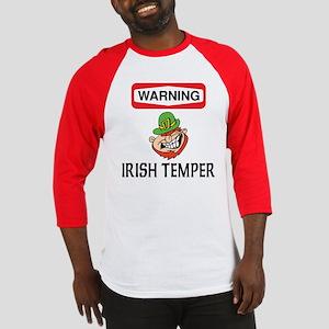 Irish Temper Baseball Jersey