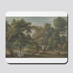 The Garden of Thomas Sandby's House at Englefield