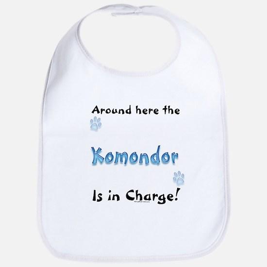 Komondor Charge Bib