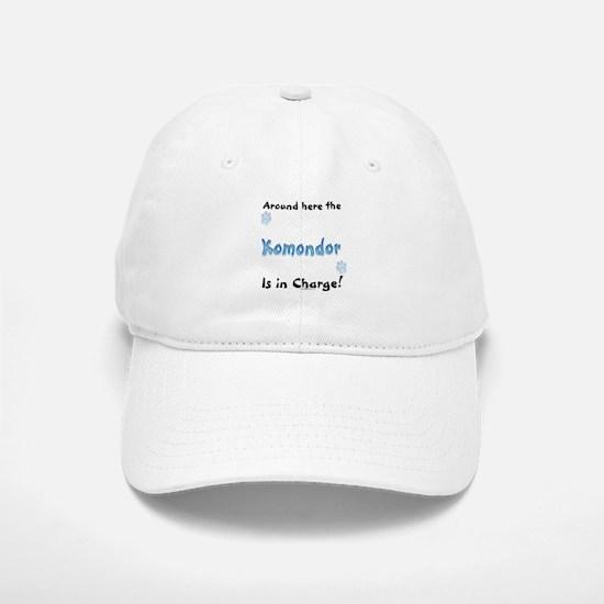 Komondor Charge Baseball Baseball Cap