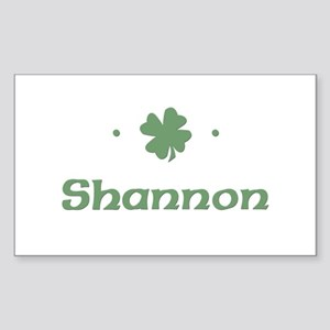 """Shamrock - Shannon"" Rectangle Sticker"