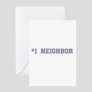 #1 Neighbor Greeting Cards