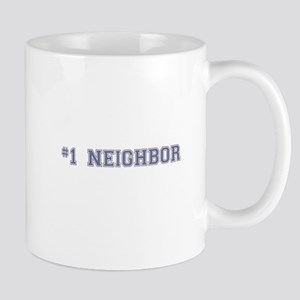 #1 Neighbor Mugs