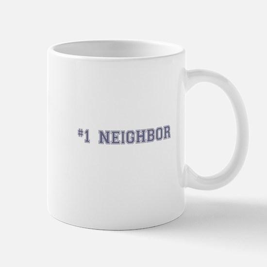 #1 Neighbor Mugs