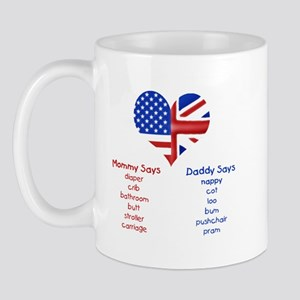 British American Translations Mug