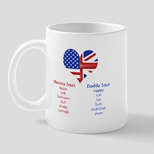 British American Translations Mug