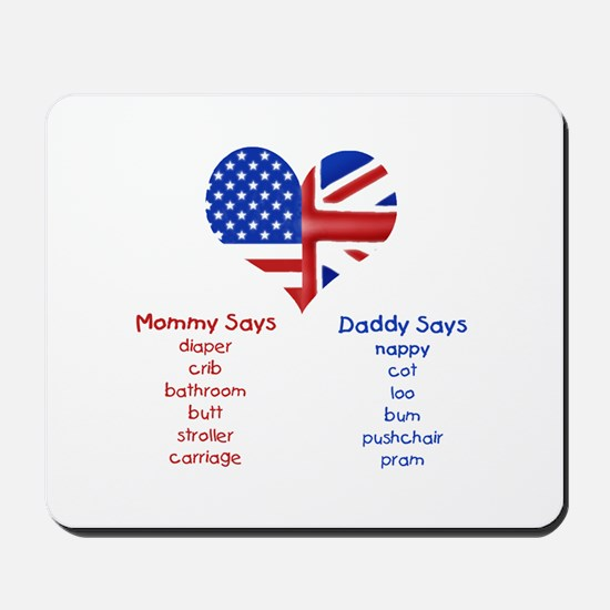 British American Translations Mousepad