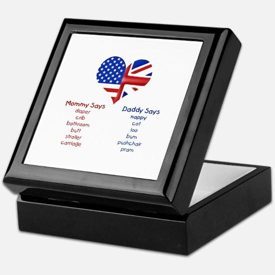 British American Translations Keepsake Box
